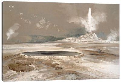 Morning Glory Pool, 1873  Canvas Art Print
