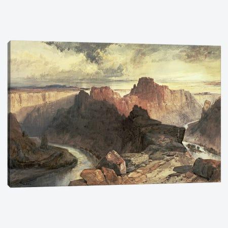 Summer, Amphitheatre, Colorado River, Utah Territory  Canvas Print #BMN4664} by Thomas Moran Art Print