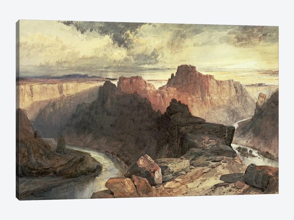Summer, Amphitheatre, Colorado River, Utah Territory  by Thomas Moran 1-piece Art Print