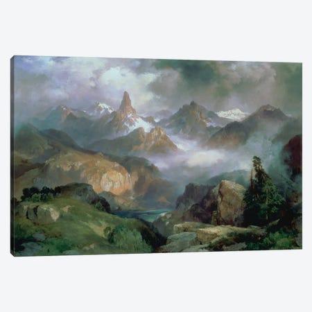 Index Peak, Yellowstone National Park, 1914  Canvas Print #BMN4665} by Thomas Moran Canvas Art Print