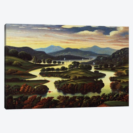 Landscape  Canvas Print #BMN4666} by Thomas Chambers Canvas Art Print