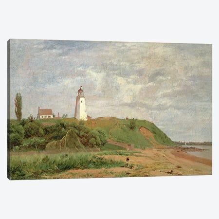 New London, Connecticut  Canvas Print #BMN4668} by William M. Hart Canvas Artwork