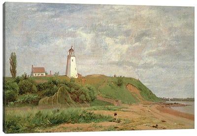 New London, Connecticut  Canvas Art Print