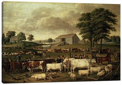 A Pennsylvania Country Fair, 1824  Canvas Art Print