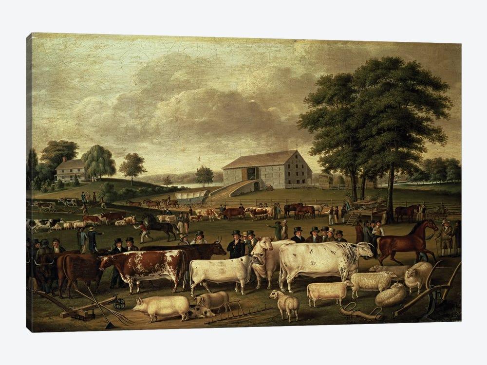 A Pennsylvania Country Fair, 1824  by John Archibald Woodside 1-piece Canvas Artwork