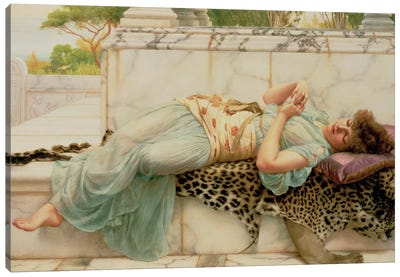 The Betrothed, 1892  Canvas Art Print