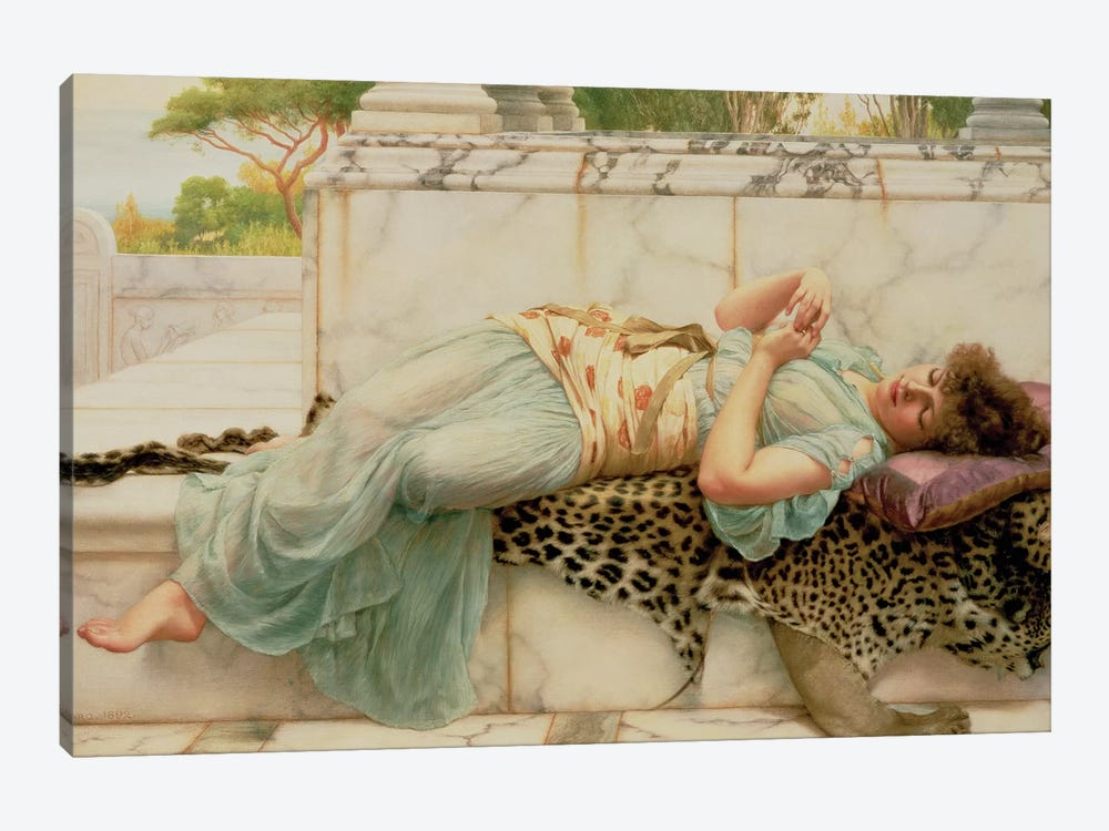 The Betrothed, 1892  by John William Godward 1-piece Canvas Art