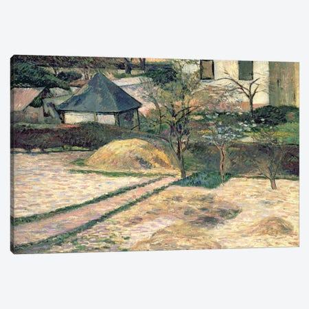 Rouen Landscape, c.1884  Canvas Print #BMN4676} by Paul Gauguin Canvas Art