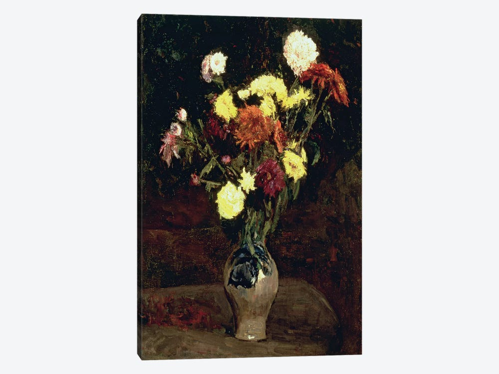 Still Life of Flowers  by Vincent van Gogh 1-piece Canvas Artwork