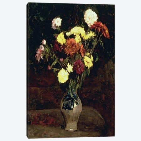 Still Life of Flowers  3-Piece Canvas #BMN4681} by Vincent van Gogh Canvas Art