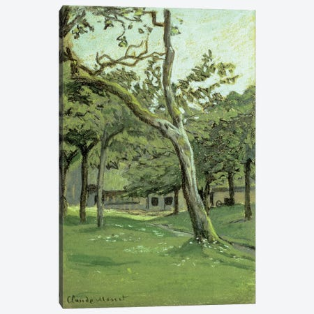 An Orchard  Canvas Print #BMN4684} by Claude Monet Art Print