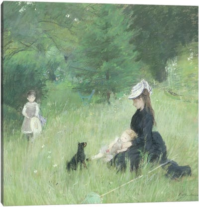 In a Park, c.1874  Canvas Art Print