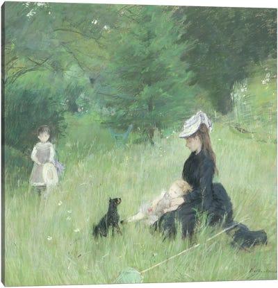 In a Park, c.1874  Canvas Art Print