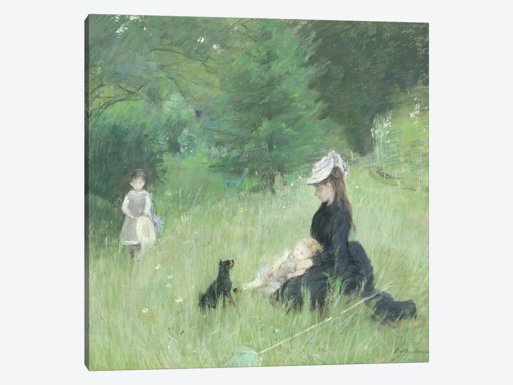 In a Park, c.1874  by Berthe Morisot 1-piece Canvas Art