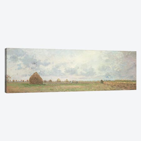 Four Seasons, Autumn, 1872   Canvas Print #BMN4693} by Camille Pissarro Canvas Art Print