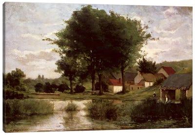 Autumn Landscape, 1877  Canvas Print #BMN4697