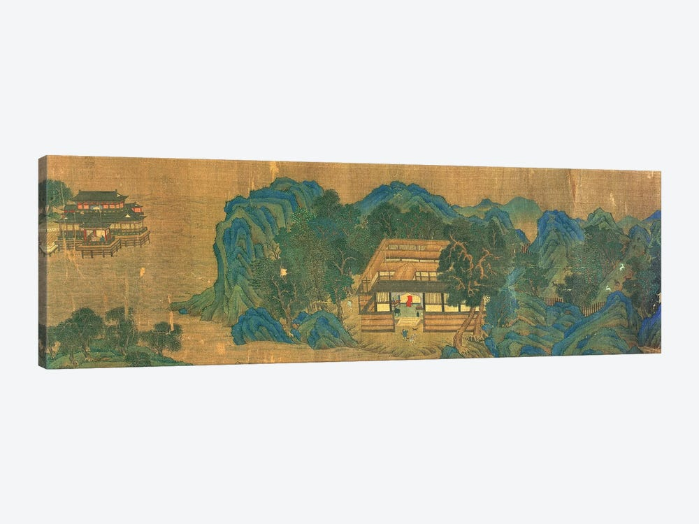 Wang Chuan's Residence, after the Painting Style and Poetry of Wang Wei  by Qiu Ying 1-piece Canvas Print