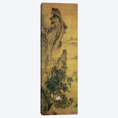 Summer Reverie by the Lotus Pond  Canvas Print #BMN4721} by Qiu Ying Art Print