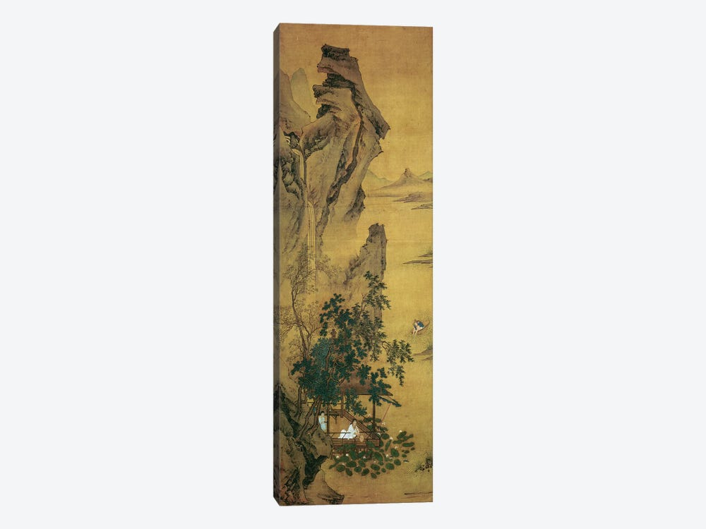 Summer Reverie by the Lotus Pond  by Qiu Ying 1-piece Art Print