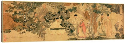 Literi Gathering in Qinglin  Canvas Art Print