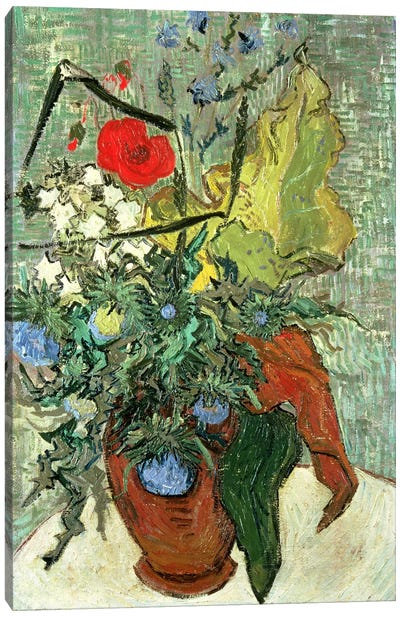 Bouquet of Wild Flowers  Canvas Print #BMN4740