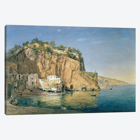 Sorrento, 1819  Canvas Print #BMN4741} by Emanuel Stockler Canvas Print