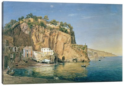 Sorrento, 1819  Canvas Art Print