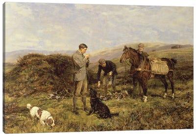 Grouse Shooting, 1901  Canvas Art Print