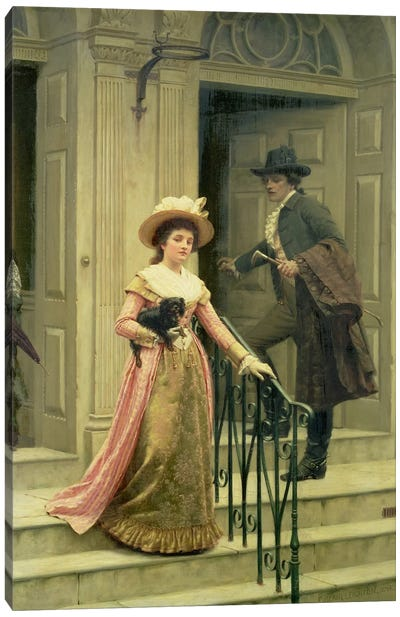 My Next-Door Neighbour, 1894  Canvas Art Print