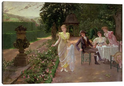 The Judgement of Paris Canvas Art Print