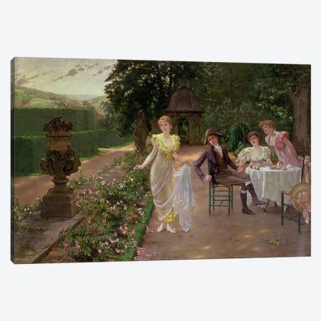 The Judgement of Paris Canvas Print #BMN4748} by Hermann Koch Canvas Art Print