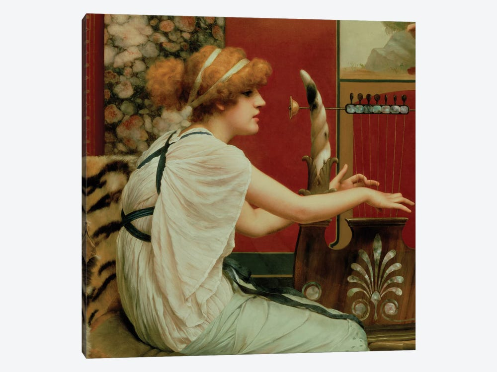 Music by John William Godward 1-piece Canvas Print