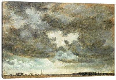 A Cloud Study  Canvas Art Print