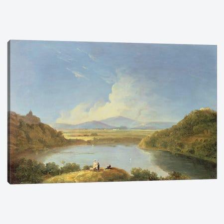 Lake Albano  Canvas Print #BMN4754} by Richard Wilson Canvas Art Print