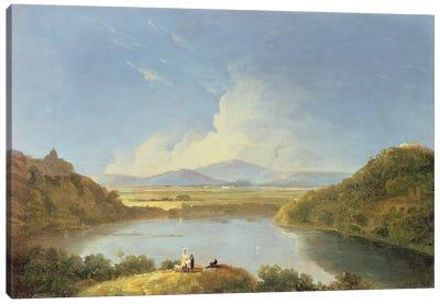 Lake Albano  Canvas Art Print