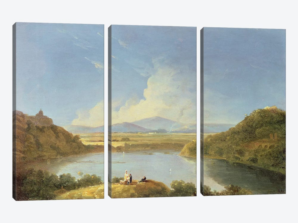 Lake Albano  by Richard Wilson 3-piece Canvas Print