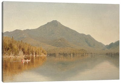 Mount Whiteface from Lake Placid, in the Adirondacks, 1863  Canvas Art Print