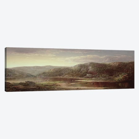 On the Shenandoah, c.1860  Canvas Print #BMN4763} by William Sonntag Art Print