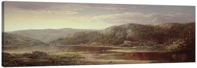 On the Shenandoah, c.1860  Canvas Art Print