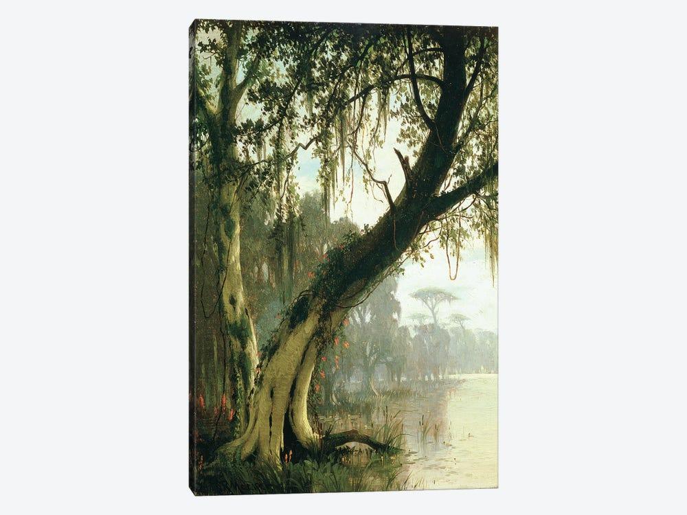 In the Bayou  by Joseph Rusling Meeker 1-piece Canvas Wall Art