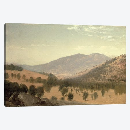 Bergen Park, Colorado  Canvas Print #BMN4768} by John Frederick Kensett Canvas Art Print