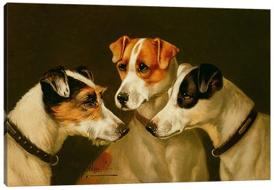 The Hounds Canvas Art Print