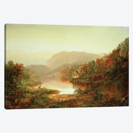 Scene Near Grafton, West Virginia, 1864  Canvas Print #BMN4772} by William Sonntag Canvas Wall Art