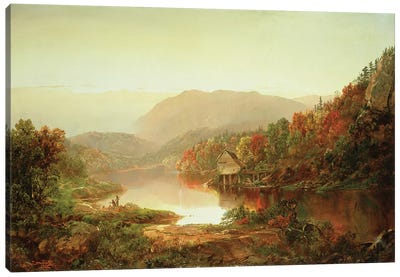 Scene Near Grafton, West Virginia, 1864  Canvas Art Print