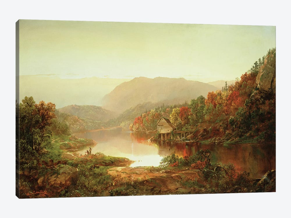 Scene Near Grafton, West Virginia, 1864  by William Sonntag 1-piece Canvas Print