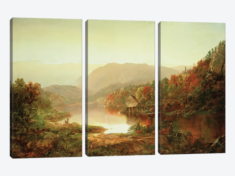 Scene Near Grafton, West Virginia, 1864  by William Sonntag 3-piece Art Print