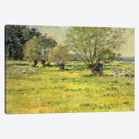 Springtime, 1892  Canvas Print #BMN4773} by Theodore Robinson Canvas Art