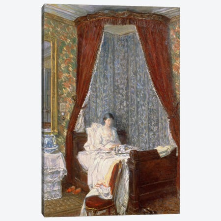 The French Breakfast, 1910  Canvas Print #BMN4775} by Childe Hassam Art Print