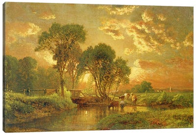 Medfield, Massachusetts  Canvas Art Print