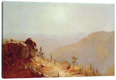 South Mountains, Catskills  Canvas Art Print